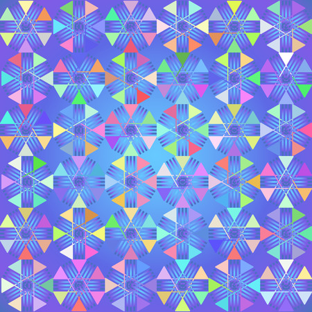 Abstract triangle background. Vector illustration, gradients and effects. Illustration