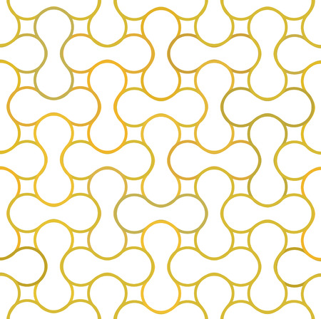 An abstract vintage metaball pattern background. Vector illustration