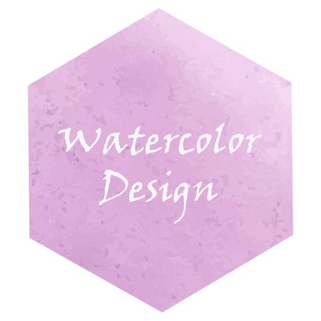 quadrant: watercolor magenta design frame background Illustration
