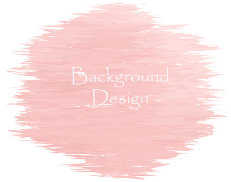 lens brush: Watercolor peach color strokes background  Design made in vector  Illustration