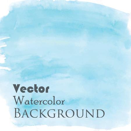slur: Blue abstract watercolor