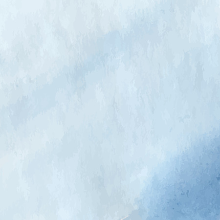 Soft blue watercolor design background. Vector illustration. Vector
