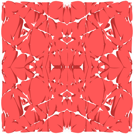 abstract art background: Bright pinky red abstract art background. Illustration made in vector.