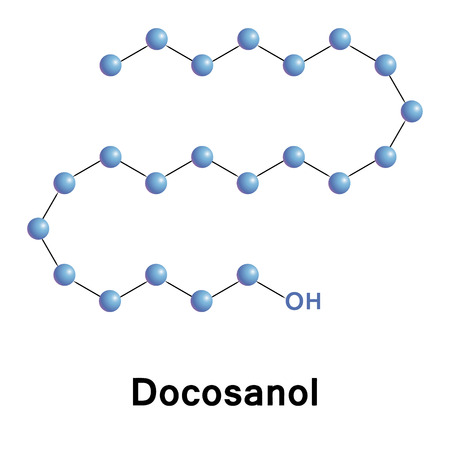 antiviral: Docosanol, behenyl alcohol, chemical formula of antiviral agent for herpes simplex virus, used as an emollient, emulsifier, supplement.