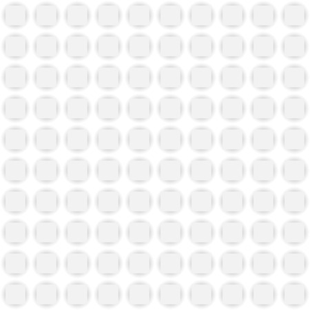 White circles with shadows, seamless pattern for background Vector