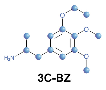 bioscience: 3c-bz psychedelic drug