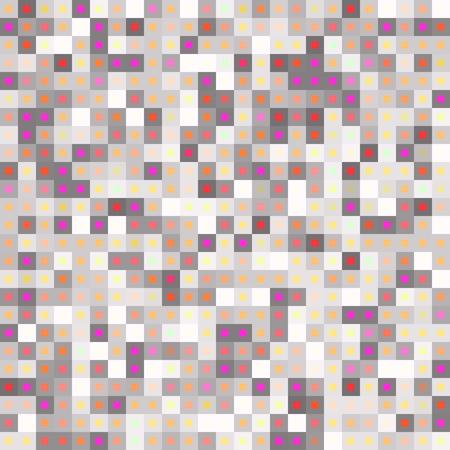 Neutral colors pastel mosaic for kitchen wallpaper. Vector illustration. Vector