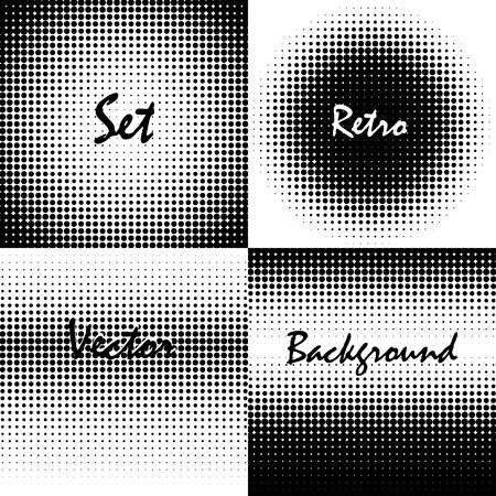 Retro background circles