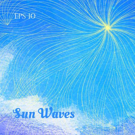 waves: Sun waves