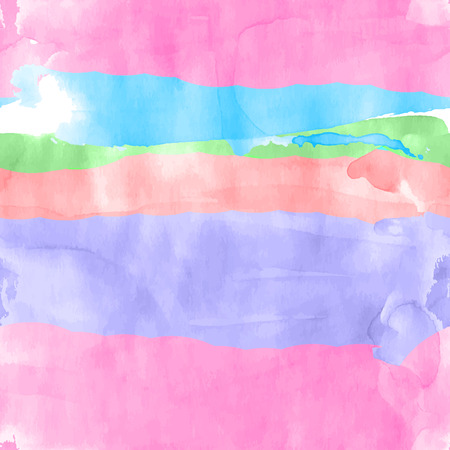 シームレスな水彩画行 写真素材 - 38670537