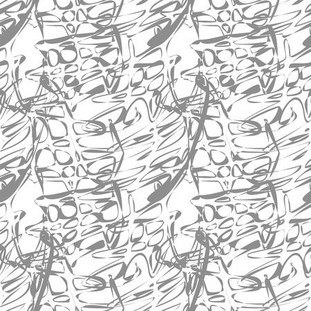 ripple: Decorative lines ripple seamless pattern. Vector illustration.