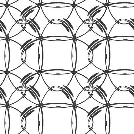ellipse: Modern ellipse shape seamless pattern for web background. Vector.