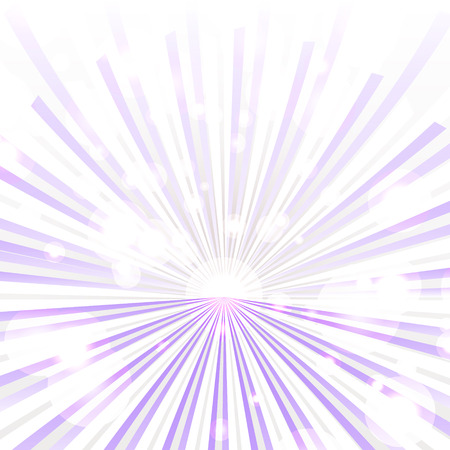 Trendy purple rays Vector