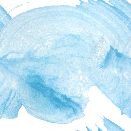 Seamless blue watercolor background made in vector.