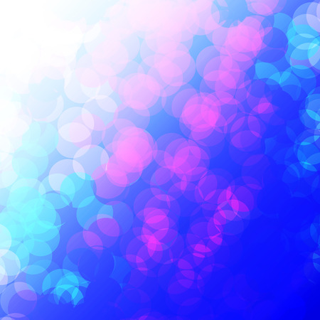 disco background: Water bubbles like bokeh illustration for new year or christmas background, vector.