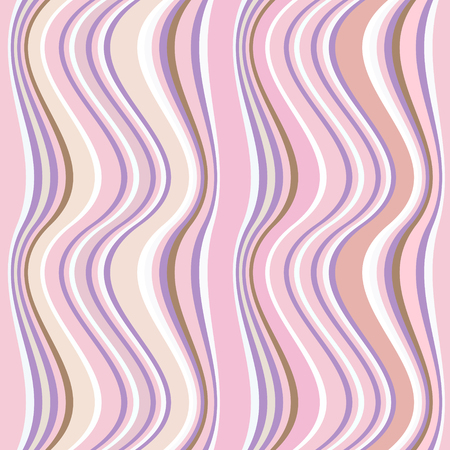 verticals: Trendy wavy verticals ornament of seamless pattern for background.