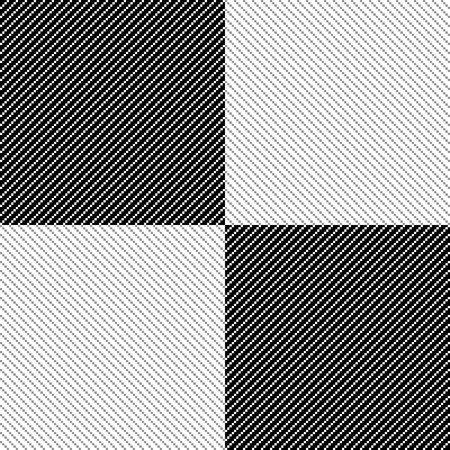 textile fabrics: Simple black and white graphic pattren, geometric background made in vector.