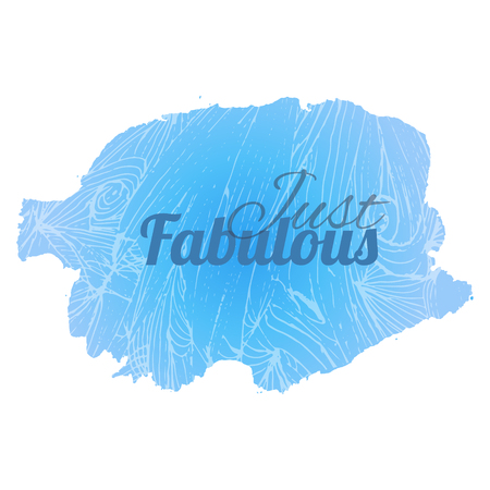 white bacground: Fabulous blue vector stains for a background design.