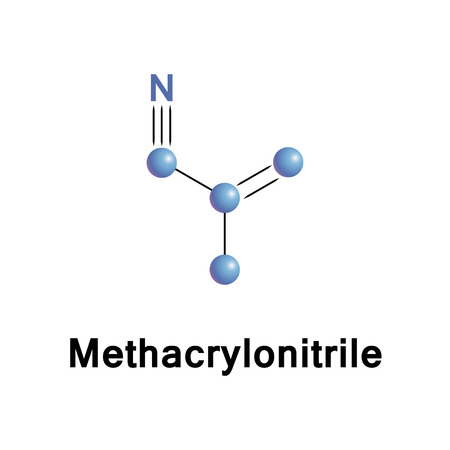 monomer: Methacrylonitrile is used in the preparation of homopolymers, copolymers, elastomers, and plastics, as a chemical intermediate in the preparation of acids, amides, amines, esters, and other nitriles.