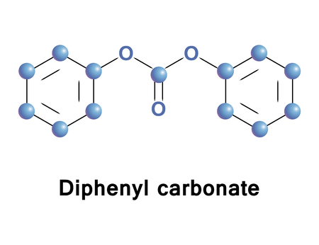 acyclic: Diphenyl carbonate is an acyclic carbonate ester. It is a monomer in combination with bisphenol A in the production of polycarbonate polymers and a product of the decomposition of polycarbonates.