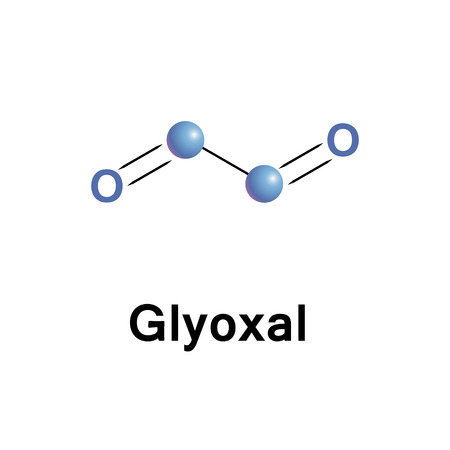 dione: Glyoxal is the smallest dialdehyde, its molecule easy hydrates and oligomerizes, a precursor to many products.