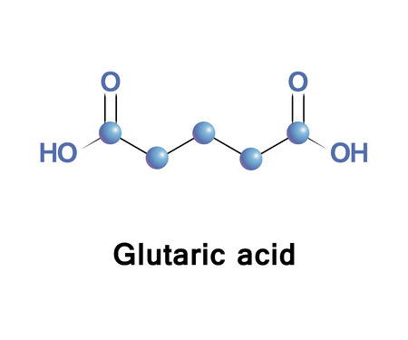 Glutaric acid is produced in the body during the metabolism of some amino acids, including lysine and tryptophan. Defects in this metabolic pathway lead to a disorder called glutaric aciduria.
