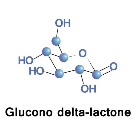 Glucono delta-lactone, also known as gluconolactone, is a food additive E575 used as a sequestrant, an acidifier, or a curing, pickling, or leavening agent. It is a lactone of D gluconic acid.