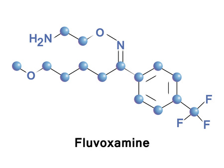Fluvoxamine is a medication with a selective serotonin reuptake inhibitor and s1 receptor agonist. It is used for the treatment of obsessive compulsive, major depressive disorder and anxiety disorders