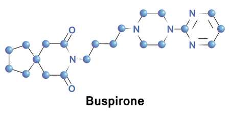 generalized: Buspirone is an anxiolytic psychotropic drug of the azapirone chemical class. It is primarily used to treat generalized anxiety disorder