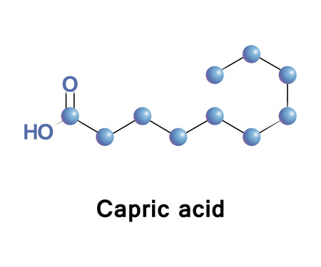 Hexanoic or caproic acid is the carboxylic acid derived from hexane with the general formula C5H11COOH.