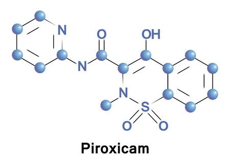 Piroxicam is a non-steroidal anti-inflammatory drug of the oxicam class used to relieve the symptoms of painful, inflammatory conditions like arthritis