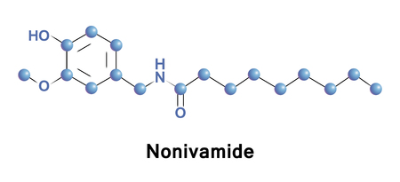 amide: Nonivamide, also called pelargonic acid vanillylamide or PAVA, is an organic compound and a capsaicinoid. It is an amide of pelargonic acid and vanillyl amine, commonly manufactured synthetically.