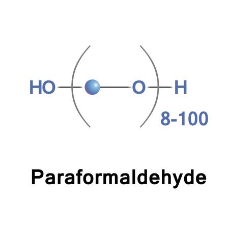 Paraformaldehyde, PFA, is het kleinste polyoxymethyleen, het polymerisatieproduct van formaldehyde met een typische polymerisatiegraad van 8 tot 100 eenheden. Het is een polyacetaal.