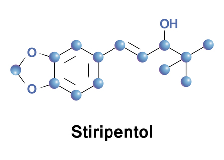 Stiripentol is an anticonvulsant drug used in the treatment of epilepsy, Dravet syndrome. It is unrelated to other anticonvulsants and belongs to the group of aromatic allylic alcohols.