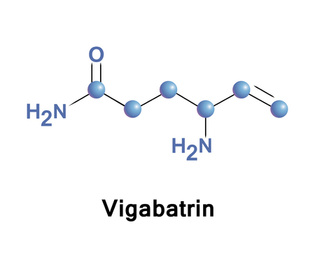 Vigabatrin, also known as gamma-vinyl-GABA, is an antiepileptic drug that inhibits the breakdown of g-aminobutyric acid by acting as a suicide inhibitor of GABA transaminase