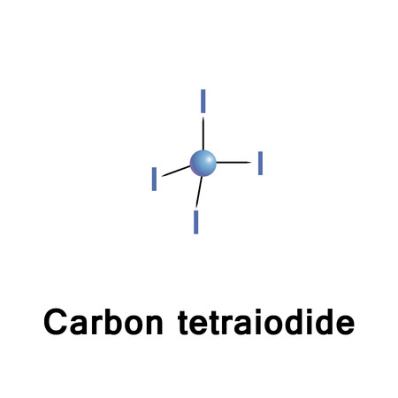 methane: Carbon tetraiodide is a tetrahalomethane with the molecular formula CI4. It is only 2 per cent by weight carbon, although other methane derivatives are known with still less carbon.