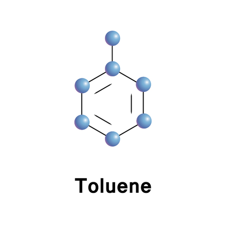 Toluene or toluol is a mono-substituted benzene derivative, consisting of a CH3 group attached to a phenyl group. As such, its IUPAC systematic name is methylbenzene. It is an aromatic hydrocarbon