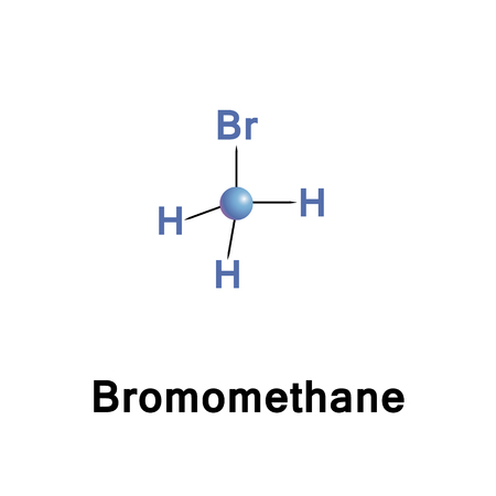 Bromomethane, commonly known as methyl bromide, is an organobromine compound with formula CH3Br. This colorless, odorless, nonflammable gas is produced both industrially and particularly biologically Çizim