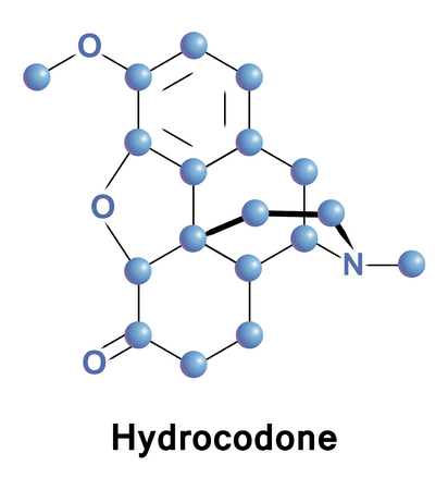 Hydrocodone, also known as dihydrocodeinone, is a semi-synthetic opioid synthesized from codeine, one of the opioid alkaloids found in the opium poppy Illustration