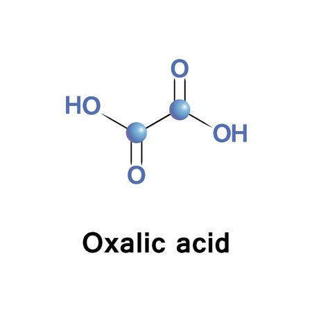 シュウ酸は還元剤とその共役基盤、金属陽イオンのキレート剤は、シュウ酸、として知られています。通常、シュウ酸は、二水和物として発生しま  イラスト・ベクター素材