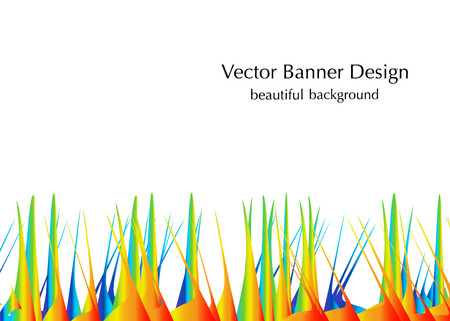 made in vector grass and sand background design Stock Photo