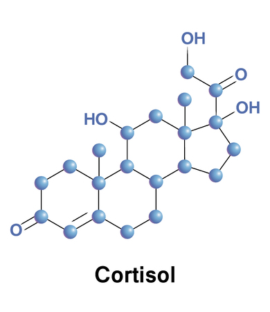 structural formula: Cortisol is a steroid hormone, in the glucocorticoid class of hormones, when used as a medication, it is known as hydrocortisone. Illustration