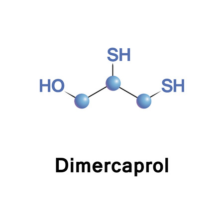 Dimercaprol, also called British anti-Lewisite, is a medication used to treat acute poisoning by arsenic, mercury, gold, and lead