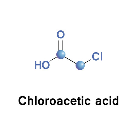 Chloroacetic acid, industrially known as monochloroacetic acid is the organochlorine compound with the formula ClCH2CO2H. This carboxylic acid is a useful building-block in organic synthesis.