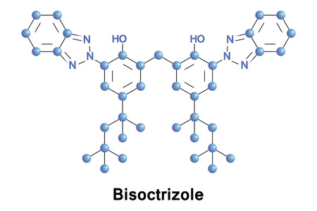 Bisoctrizole is a benzotriazole-based organic compound that is added to sunscreens to absorb UV rays