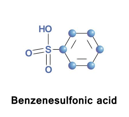 ベンゼンスルホン酸は、有機硫黄化合物を数式 C6H5SO3H です。最も簡単な芳香族スルホン酸です。医薬品の準備、その塩が besilates または besylates
