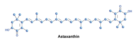Astaxanthin is a keto-carotenoid. It belongs to a class of terpenes or tetraterpenoids, they are built from five carbon precursors, isopentenyl diphosphate and dimethylallyl diphosphate