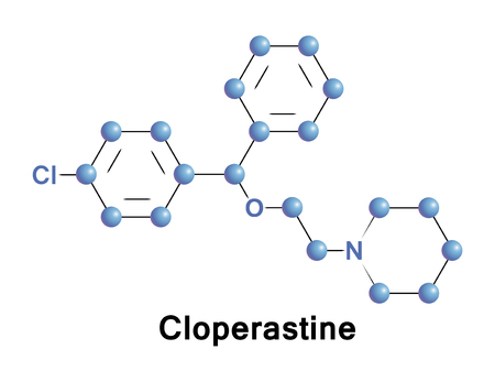 Cloperastine is an antitussive and antihistamine, it is a cough suppressant.