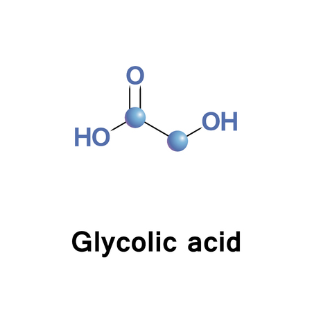 Glycolic, hydroacetic or hydroxyacetic acid, is the smallest alpha hydroxy acid