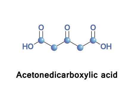 intermediate: Acetonedicarboxylic acid, 3-oxoglutaric acid or beta-ketoglutaric acid is a simple dicarboxylic acid.